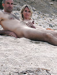 Hot tanned nudists..