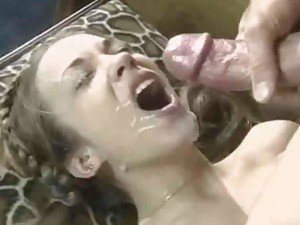 Sperm on face and sperm on body. All cumshots pics at ritzysex.