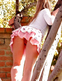 Upskirt Pussy and..